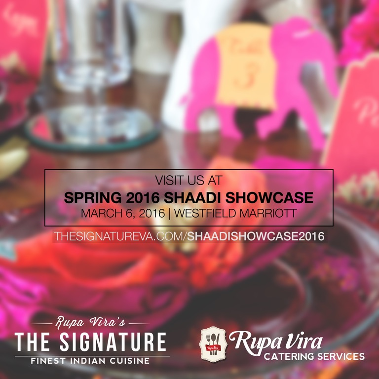 Rupa Vira's The Signature will be attending Shaadi Showcase 2016