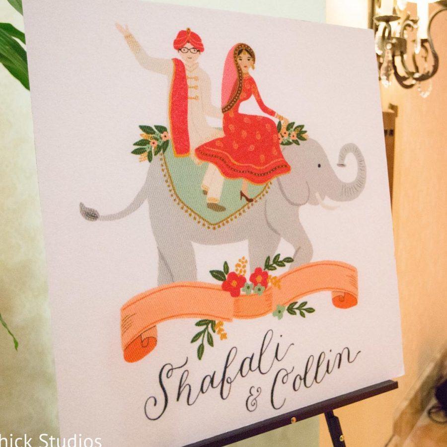 Shefali Collin Wedding Featured on Maharani Weddings