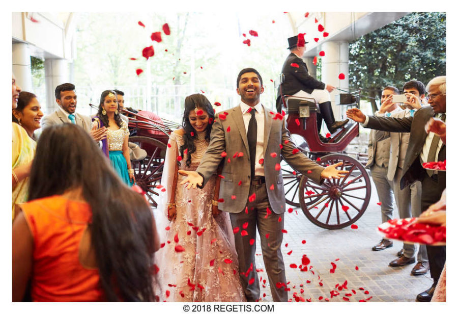 Wedding Reception, Hyatt Reston – As Featured on Maharani Weddings